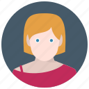 avatar, woman, user