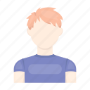 appearance, avatar, face, hairstyle, image, man, person icon