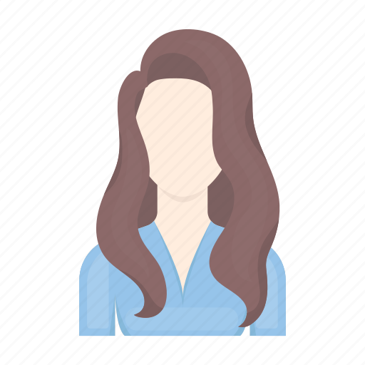 appearance, avatar, face, hairstyle, image, person, woman icon