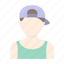 appearance, avatar, boy, face, hairstyle, image, person icon