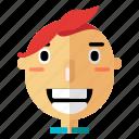 avatar, boy, man, people, profile, smiley, user