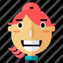 avatar, girl, people, profile, smiley, user, woman