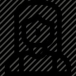 avatar, human, user, women icon