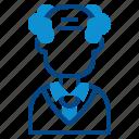 scientist, avatar, professor, laboratory, man, oldman