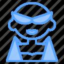 avatar, boy, girl, glasses, man, sexy, woman icon