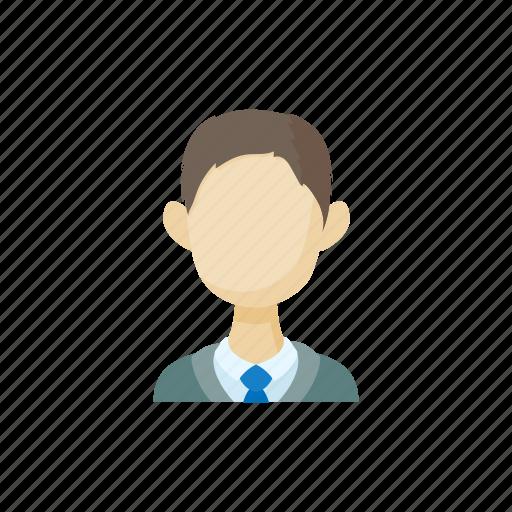 avatar, brunette, cartoon, faceless, men, sign, style icon