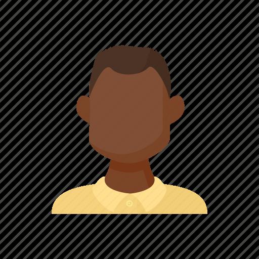 avatar, cartoon, dark, men, sign, skin, style icon