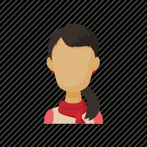 Image result for brunette cartoon