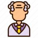 scientist, man, oldman, avatar, laboratory, professor