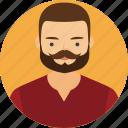 boy, business, face, fashion, human, man, profile icon