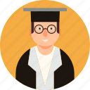 degree holder icon