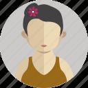 house lady icon
