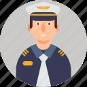 crime, fashion, guard, man, police man, profile, protection icon