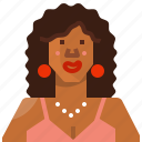 african, avatar, face, female, profile, user, woman
