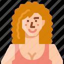 avatar, caucasian, female, girl, profile, user, woman
