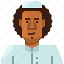 account, arab, avatar, man, muslim, profile, user icon