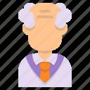 professor, avatar, oldman, man, scientist, laboratory