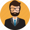 boy, business, face, human, male, man, profile icon
