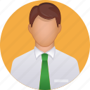 boy, business, face, human, man, profile, smiley icon