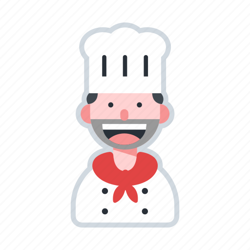 avatar, character, chef, cooking, culinary icon