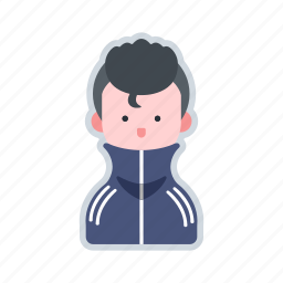 avatar, character, fashion, gangster, tracksuit icon