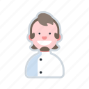 avatar, character, chef, cooking, uniform icon