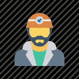 avatar, employer, services, worker icon