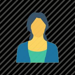 avatar, businesswomen, female, graduate icon