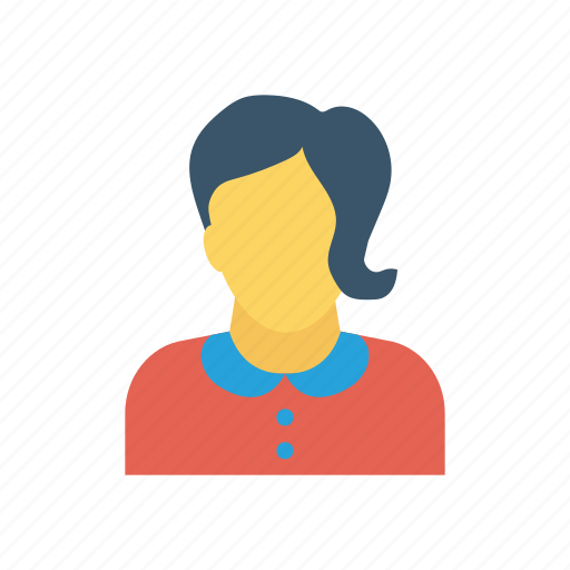 avatar, girl, lady, women icon