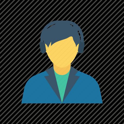 avatar, boy, student, teenager icon