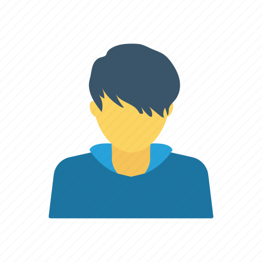 avatar, boy, student, user icon