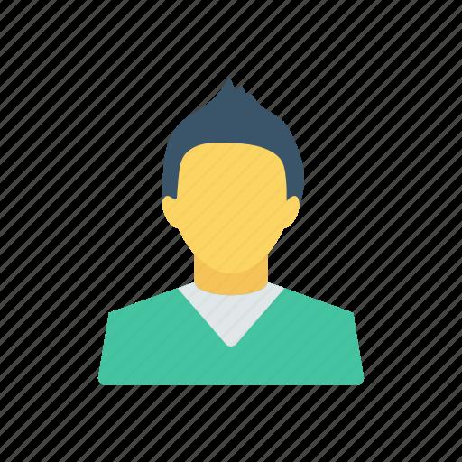 avatar, boy, teen, user icon