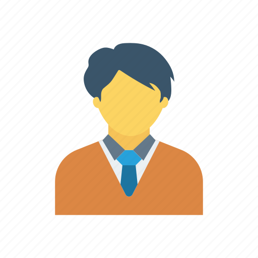 accounting, bussinesman, social, user icon