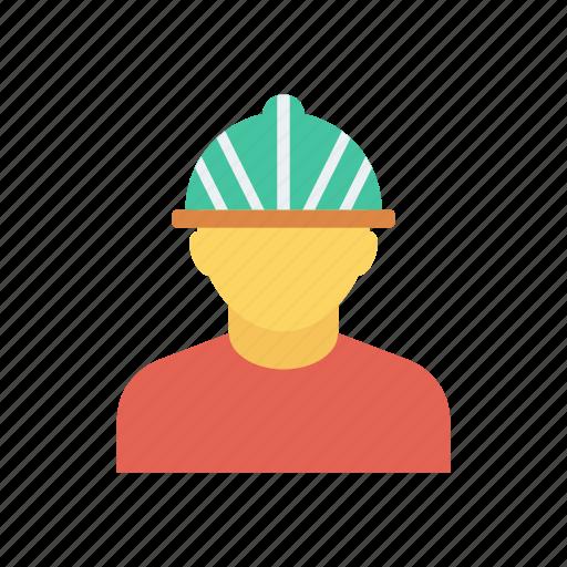 avatar, constructionworker, fieldworker, male icon