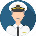 aircraft, airline, fly, man, people, pilot, plane icon