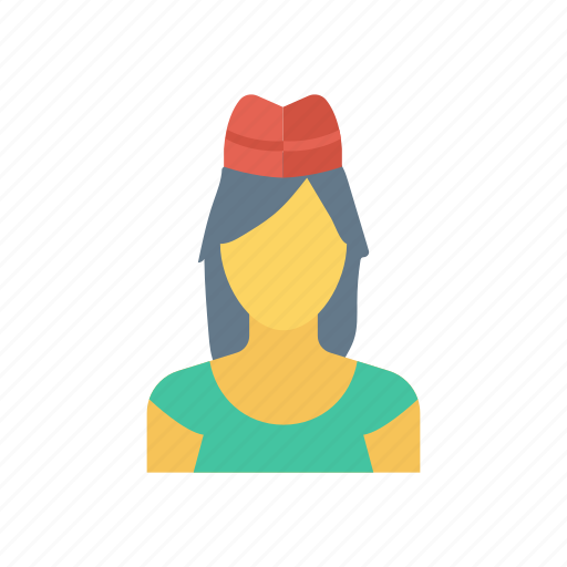 Face, girl, human, user icon - Download on Iconfinder