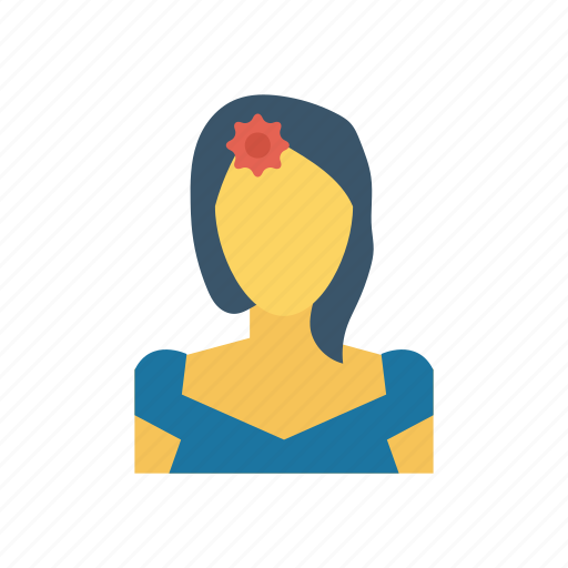 Avatar, girl, lady, woman icon - Download on Iconfinder