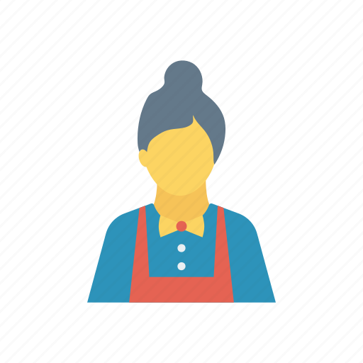 grandmother, lady, old, oldwoman icon