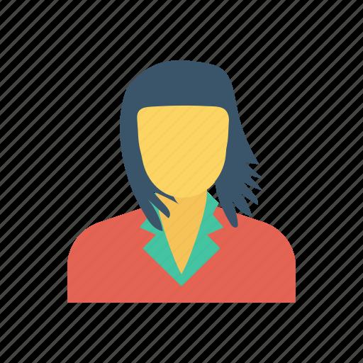 avatar, businesswoman, lady, woman icon