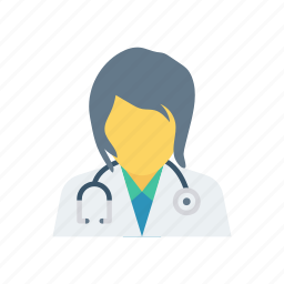 doctors, health, ladydoctor, woman icon