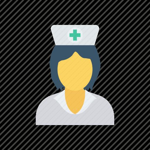 health, medicine, nurse, nursecap icon