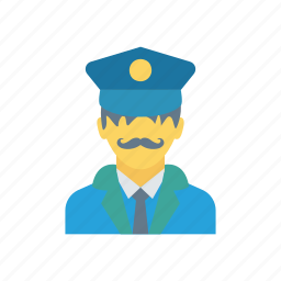 badge, police, protect, security icon
