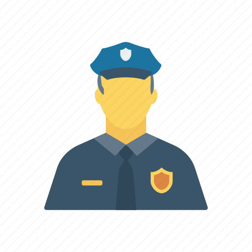 male, man, policeman, security icon