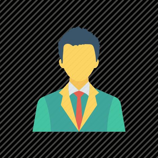 avatar, school, schoolboy, student icon