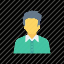 avatar, office, schoolboy, student icon