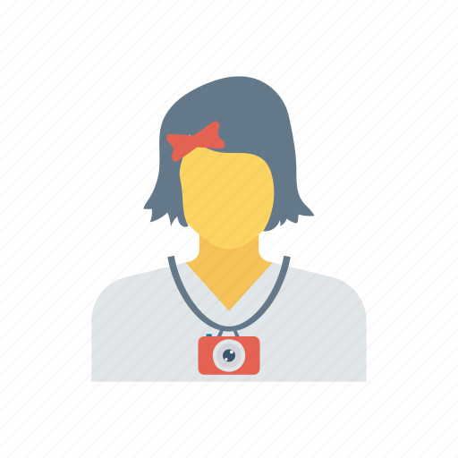 Education, schoolgirl, student, youngergirl icon - Download on Iconfinder