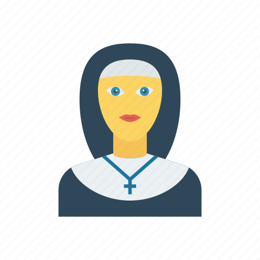 Catholic, church, girl, sister icon - Download on Iconfinder