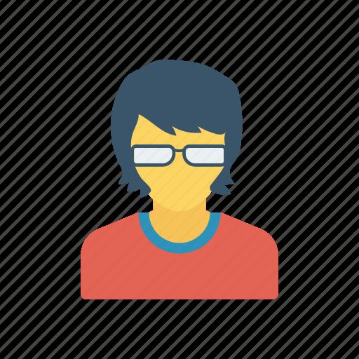 boy, collage, student, study icon
