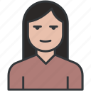 avatar, blonde, female, girl, girl avatar, lady, office woman, person, profile, user icon