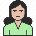 avatar, blonde, female, girl, girl avatar, house woman, lady, office woman, person, profile, user icon